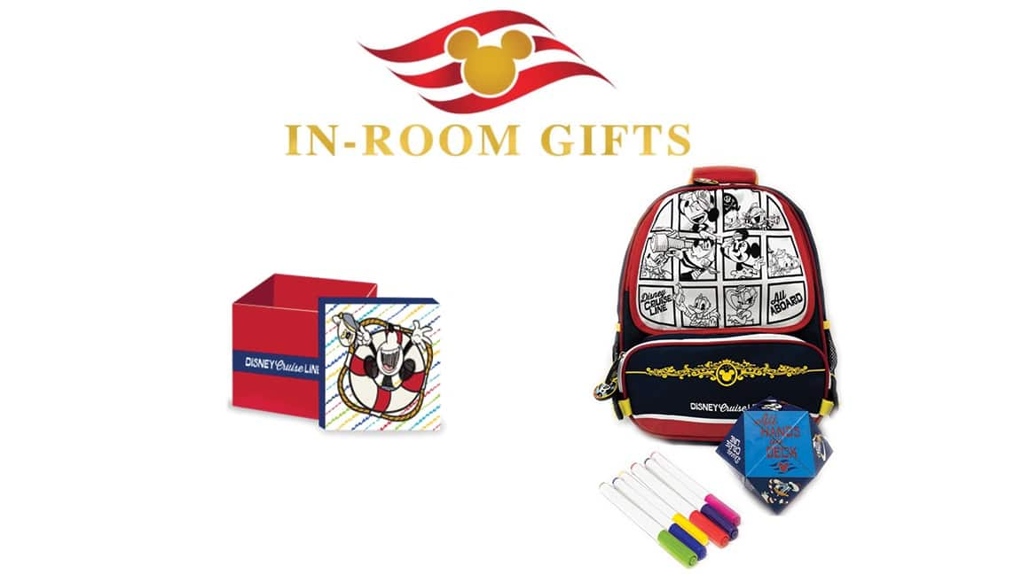 in room gifts shopping disney cruise line