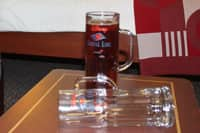 Beer Mug Package - Carry this Disney Cruise Line-branded beer mug to any onboard bar and get a 22 oz. refill of beer for the price of a 16 oz. size! If you find the mug too heavy to carry while onboard, then take advantage of the beer mug token.
