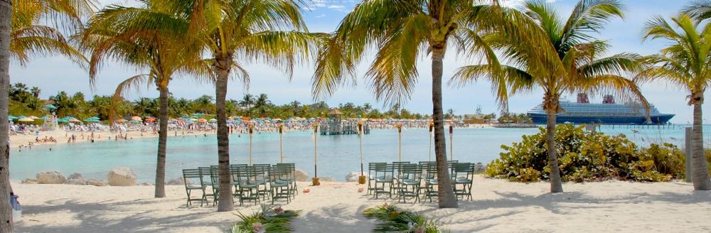 Castaway Cay Beach Disney Cruise Line Weddings S Fairy