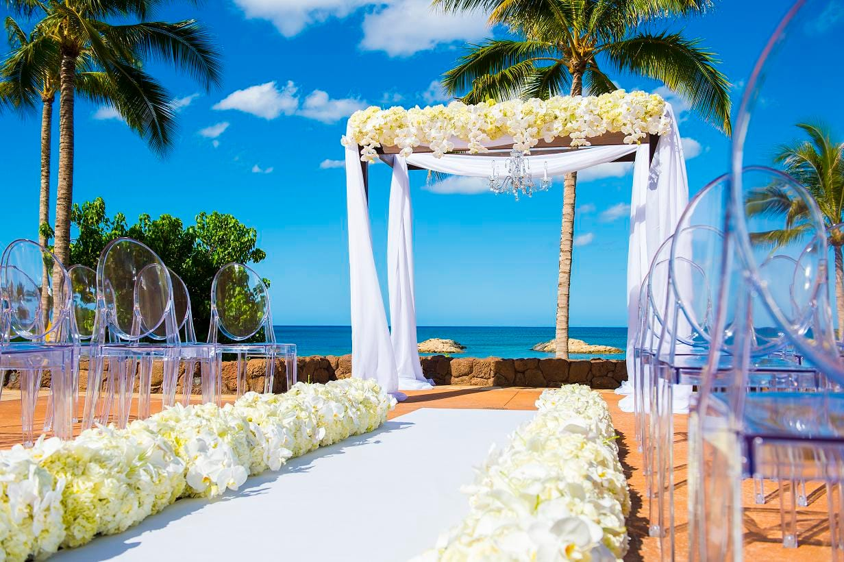 Hawaii weddings disneys fairy tale weddings hawaii weddings junglespirit Images