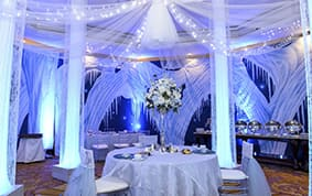 Decor a frozen winter wonderland wedding disney weddings be sure to ask your disney wedding planner for tips on how to create your own winter wonderland junglespirit Image collections