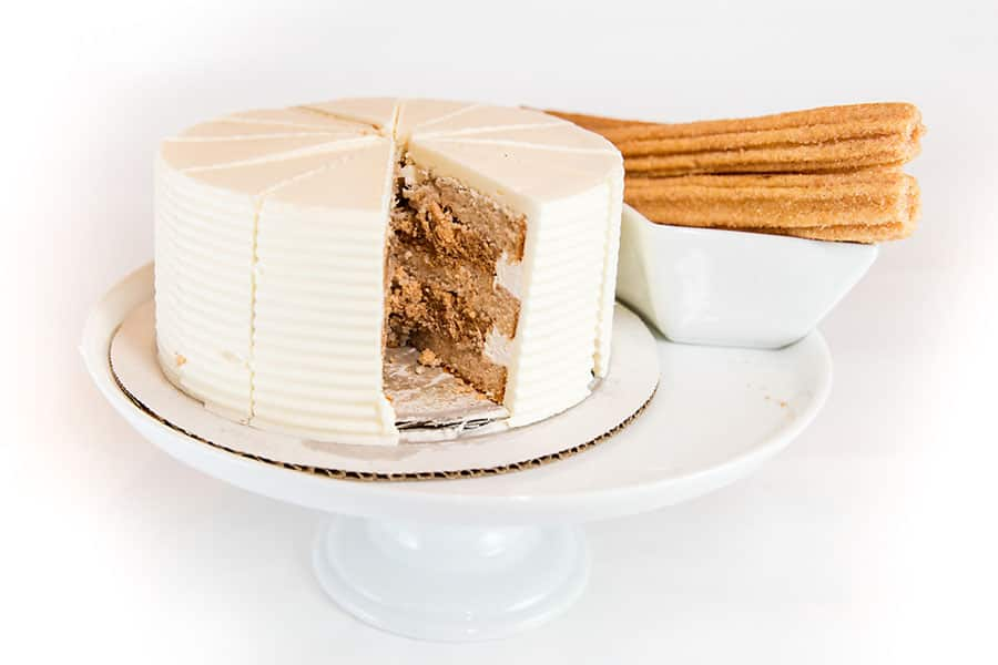 Disney Churro Wedding Cake