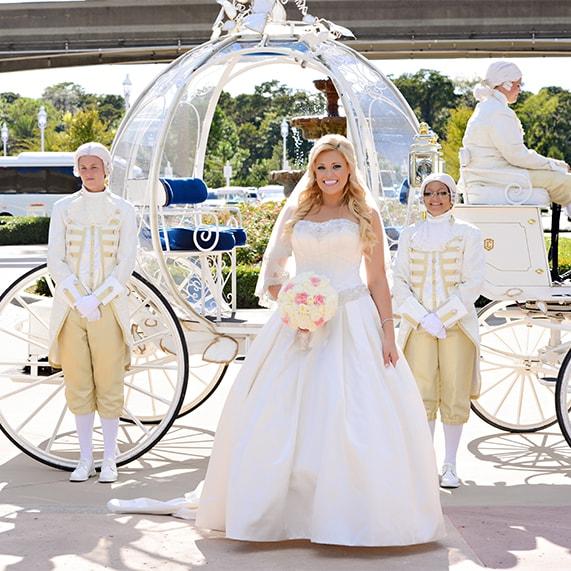 Real Fairytale Weddings Silver Spring Md: Walt Disney World Wedding Spotlight: Beckie & Chris