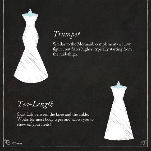Wedding Dress 101: The Silhouette | Disney Weddings