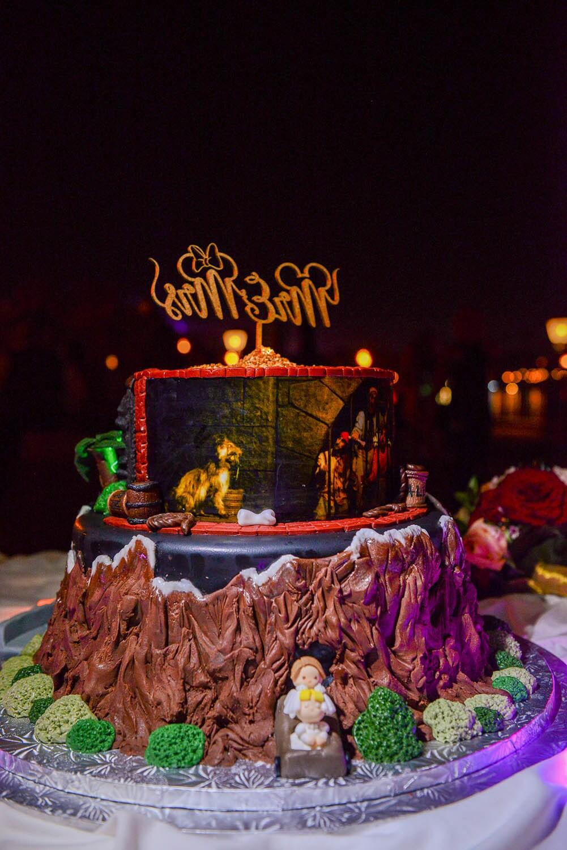 Wedding Cake Wednesday Walt Disney World Favorites Disney Weddings