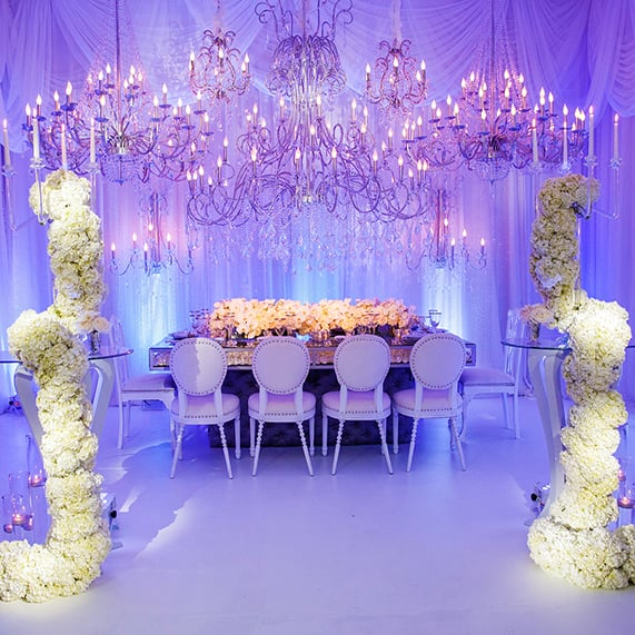 Decor Disney Cinderella Inspired Wedding Reception