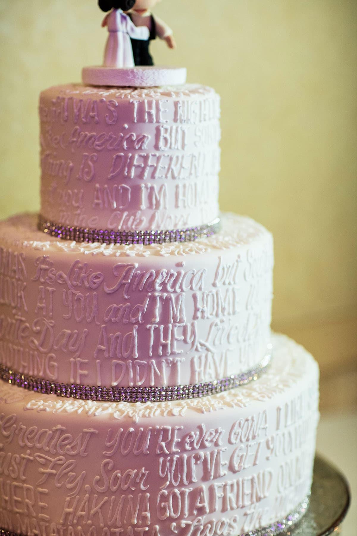 Disney Wedding Quotes Wedding Cake Wednesday Disney Movie Quotes  Disney Weddings