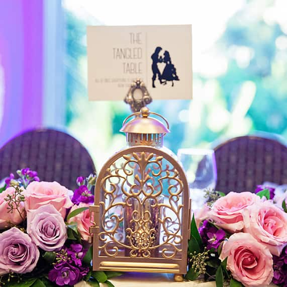 Disney wedding decor gallery disneys fairy tale weddings junglespirit Image collections