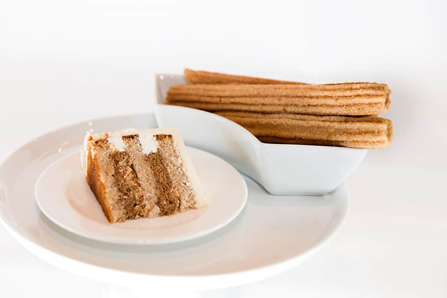 Churro Wedding Cake Disney