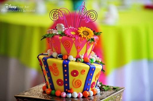 Wedding Cake Wednesday: Mad Hatter | Disney Weddings