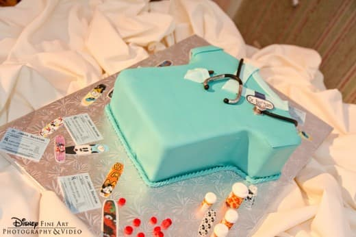 Wedding Cake Wednesday Doctor Grooms Cake Disney Weddings
