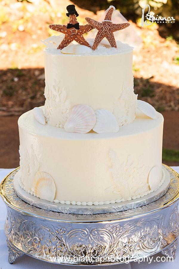 Wedding Cake Wednesday: Hawaiian Starfish | Disney Weddings| Disney ...