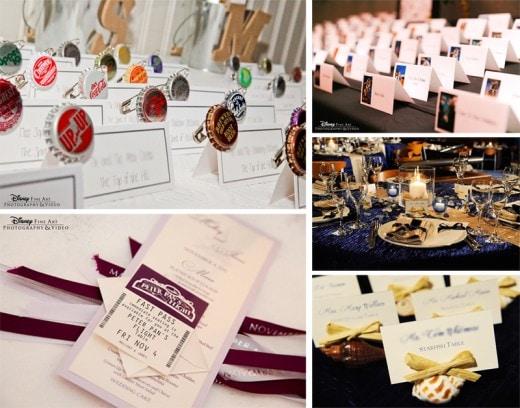Wediquette 101 escort cards vs place cards disney weddings wediquette 101 escort cards vs place cards junglespirit Images