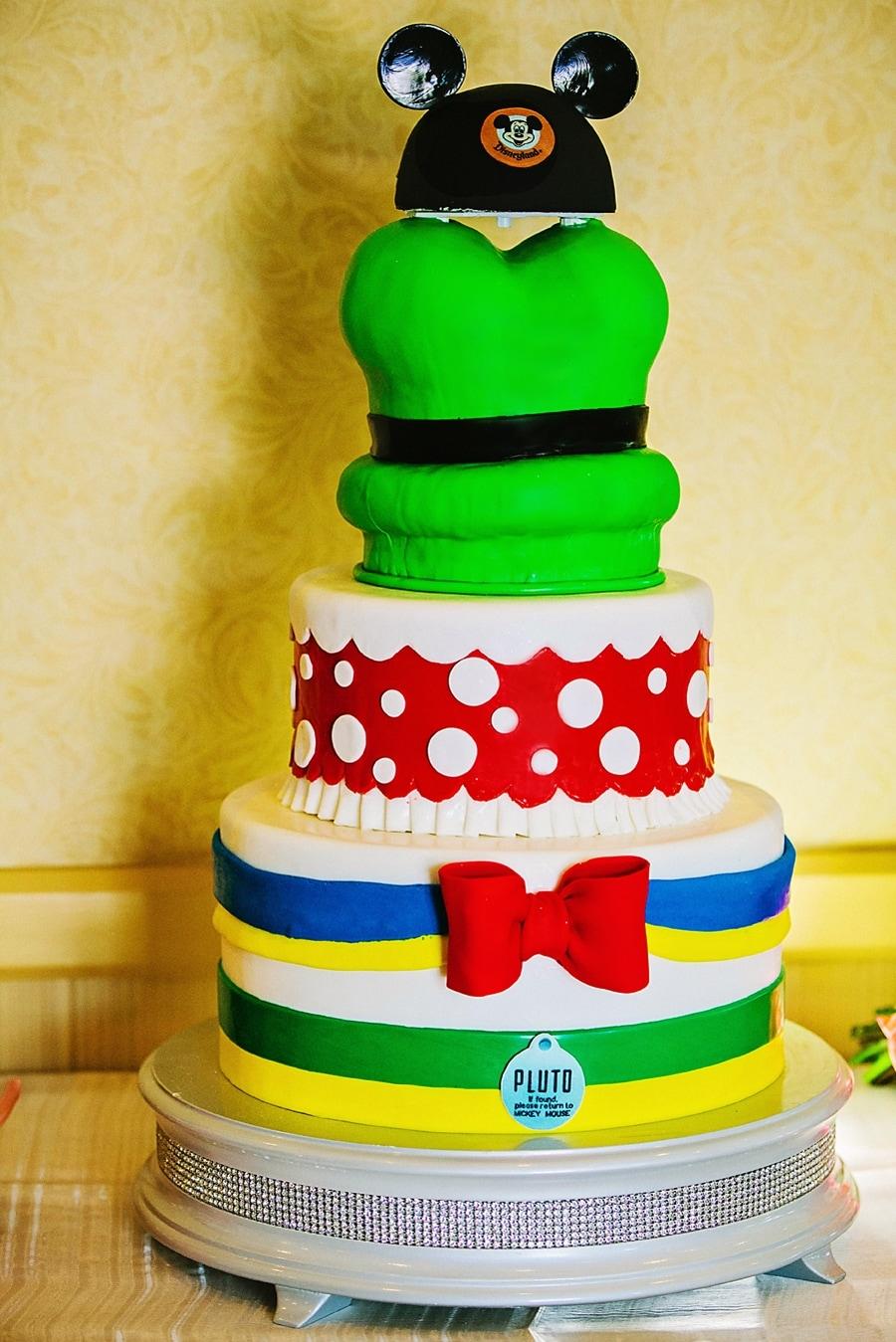 Wedding Cake Wednesday Disneyland Characters Disney Weddings