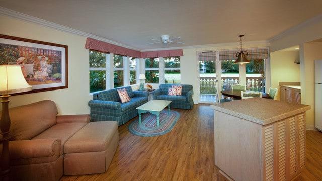 old key west 2 bedroom villa. 2 Bedroom Villa Rooms  Points Disney s Old Key West Resort Vacation Club