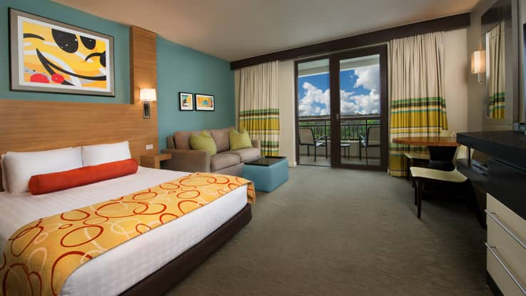 Rooms & Points | Bay Lake Tower at Disney\'s Contemporary Resort ...