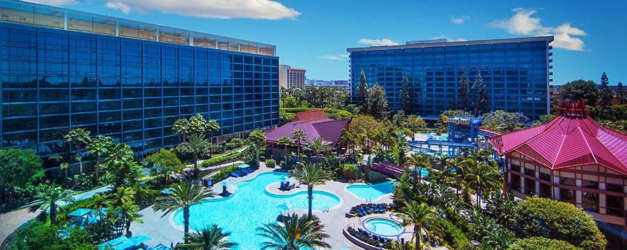 Edmonton Anaheim Disneyland Hotel