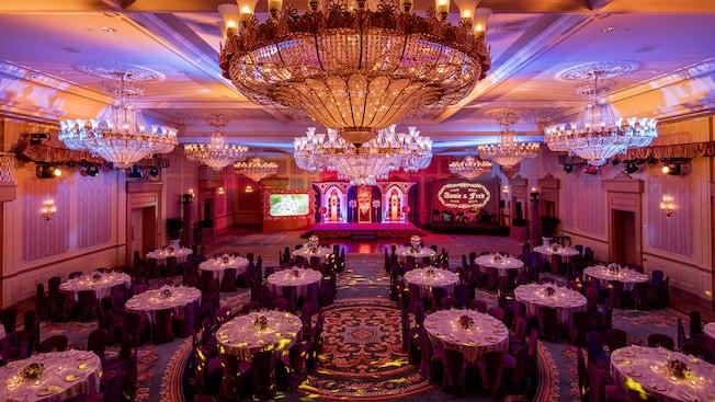 Hong Kong Disneyland Hotel Banquet Room