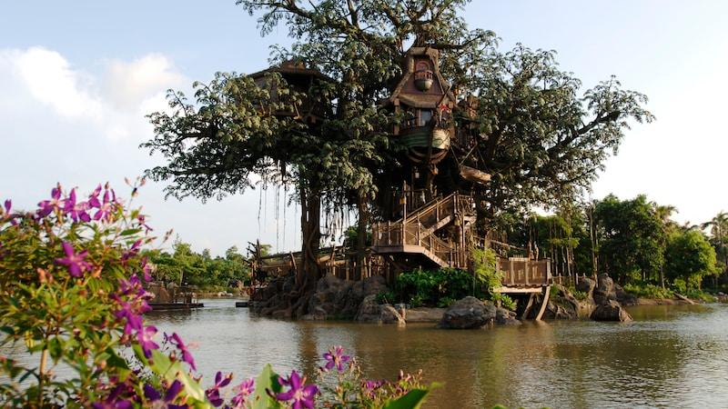 Tarzan's Treehouse | Hong Kong Disneyland Resort