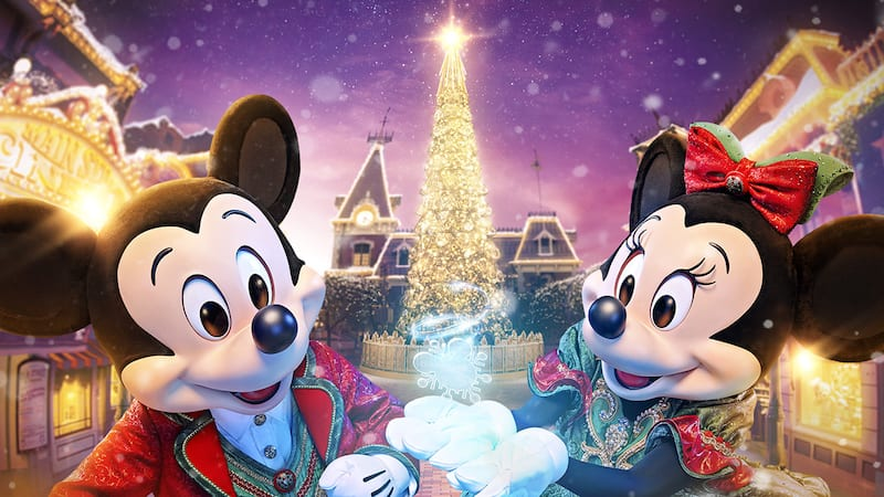 Christmas In Disneyland Hong Kong.A Disney Christmas Treasure Your Traditions Hong Kong