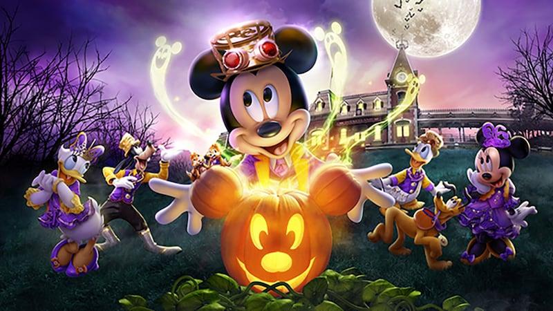 Halloween In Disneyland 2019.Hong Kong Disneyland