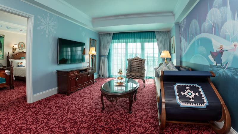 Hong Kong Disneyland Hotel Suite Kelab Kingdom Frozen