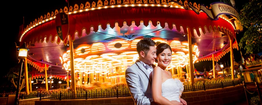 Disney S Fairy Tale Weddings Hong Kong Disneyland Resort