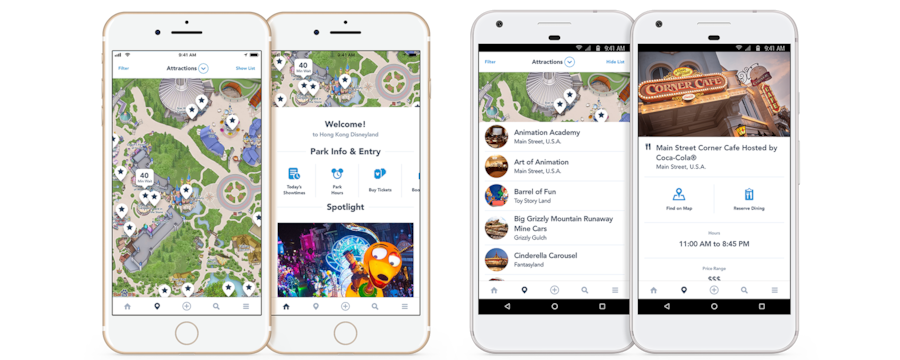 picture regarding The Simplified Planner App referred to as Hong Kong Disneyland Cellular Application Hong Kong Disneyland